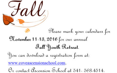 Fall Youth Retreat 2016